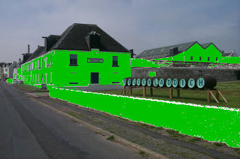 Picture of a 'green' distillery
