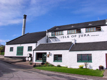 Picture of the Isle of Jura Distillery