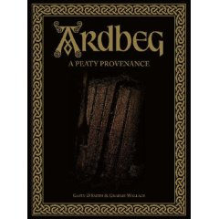 Picture of the cover for the Ardbeg book