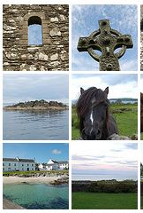 Screenshot from a Flickr set of Islay pictures