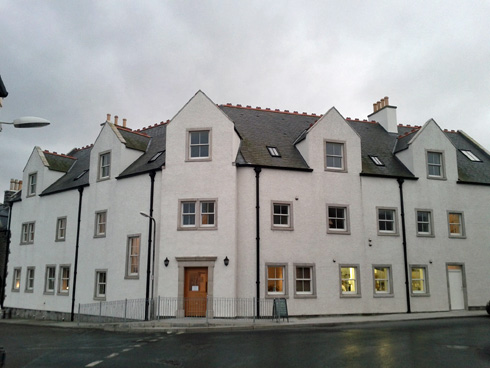 Picture of the front of The Islay Hotel in Port Ellen
